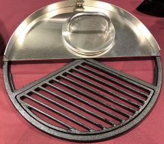 """Ballistic Griddle For BGE and 18.5"""" Webers"""