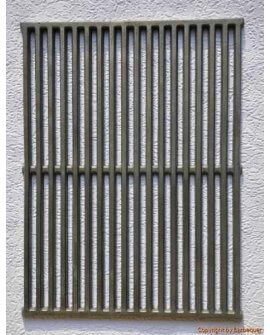 "17.3"" x 11.8"" Cast Iron Grates (Set of 2)"
